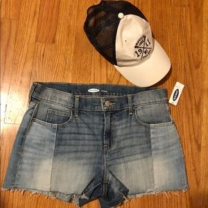 New jean shorts by Old Navy